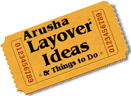 Stuff to do in Arusha