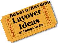 Stuff to do in Bukavu/Kavumu
