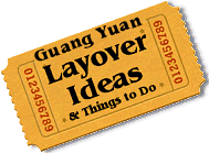 Stuff to do in Guang Yuan