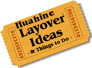 Stuff to do in Huahine