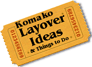 Stuff to do in Komako