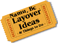 Stuff to do in Namu, Bc
