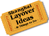 Stuff to do in Shanghai